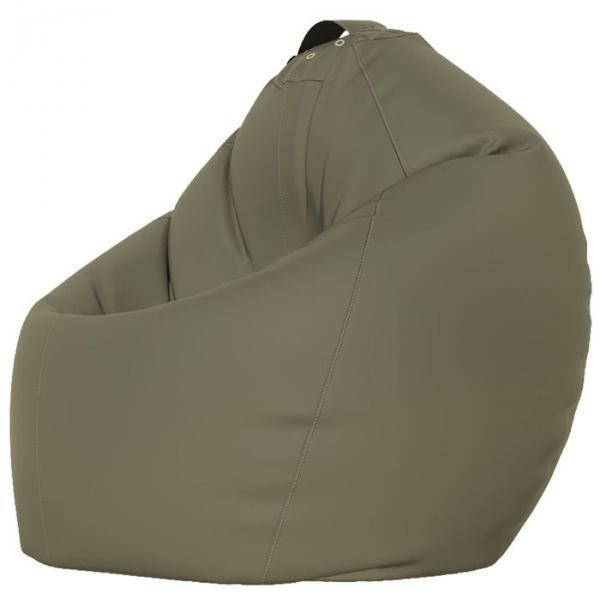 Кресло-мешок XXL, ткань нейлон, цвет серый