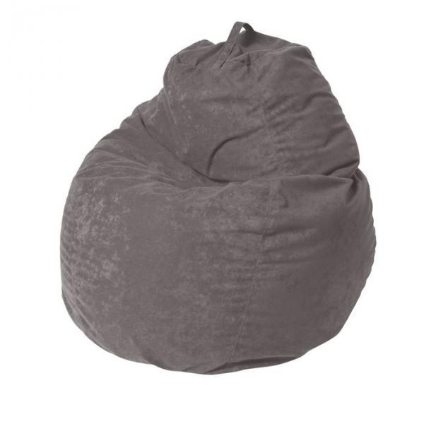 """Кресло-мешок """"Пятигранный"""", диаметр 82 см, высота 110 см, цвет серый Aloba"""