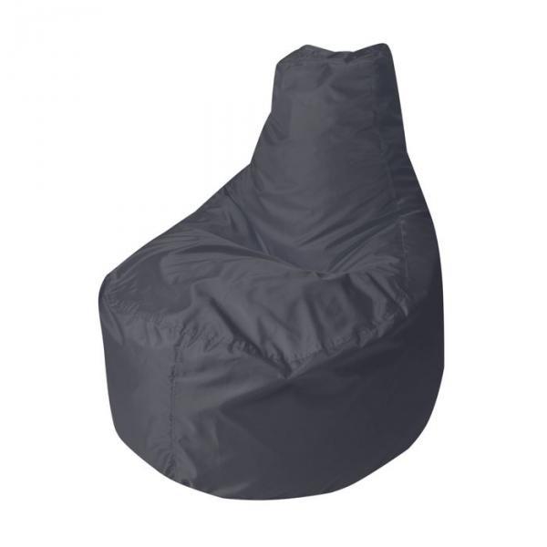 """Кресло-мешок """"Банан"""", диаметр 90 см, высота 100 см, цвет чёрный Oxford"""