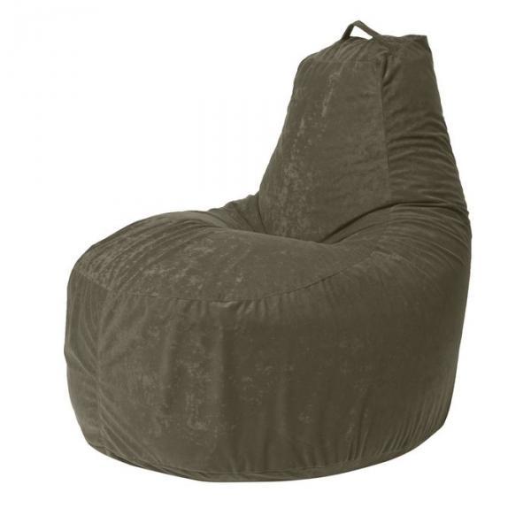 """Кресло-мешок """"Банан"""", диаметр 90 см, высота 100 см, цвет зелёный Kanada"""