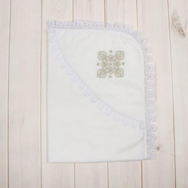 Уголок для крещения с вышивкой, размер 80*80 см К72