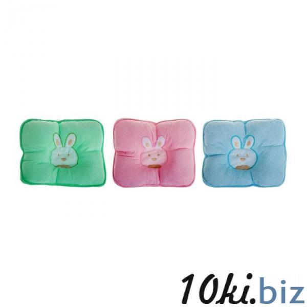 Подушка детская анатомическая «Зайка», цвета МИКС купить в Гродно - Детские подушки