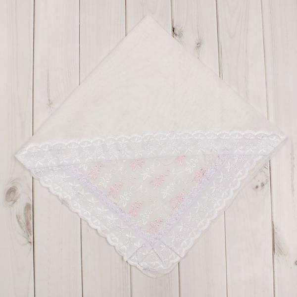 Уголок для новорожденного, размер 80х80 см, цвет розовый 16003