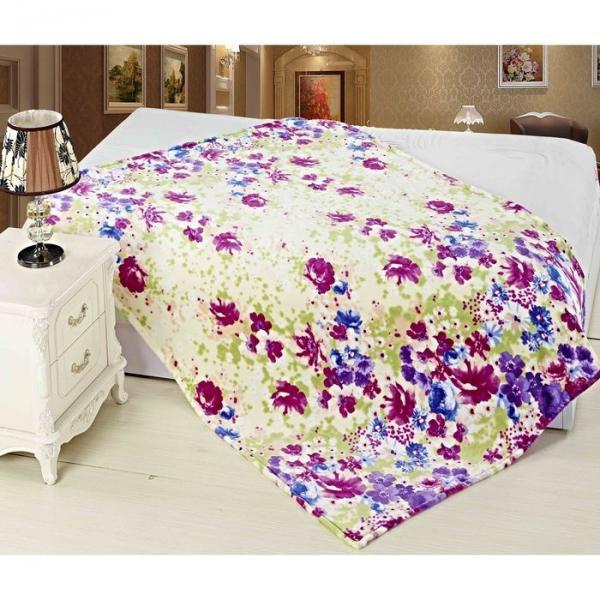 Плед Цветково «Цветочный ковер», размер 150х200 см, 320 г/м?