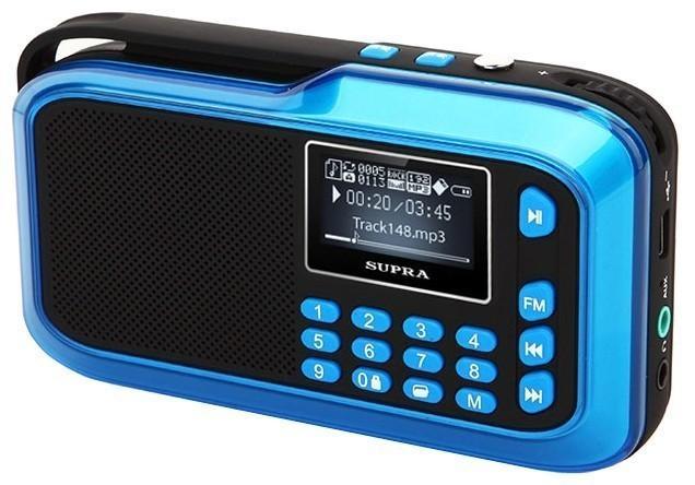 Радиоприемник SUPRA PAS-3909 Blue