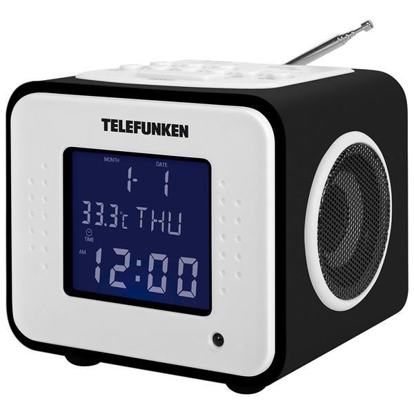 Радиоприемник Telefunken TF-1575U Black Wood-Purple