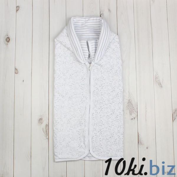Конверт детский, рост 62 см (40), цвет белый ZBB 37001-W_М купить в Гродно - Конверты для новорожденных