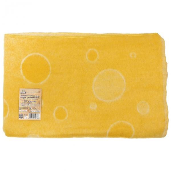 Одеяло полушерстяное жаккардовое рис 6/6 100х140 см, 40 шерсть 47 акрил 13 хл, 500 гр/м