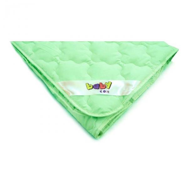 Одеяло Мягкий сон 110х140 см,Бамбук 300г/м, микрофибра(эффектом персика)чехол МИКС,