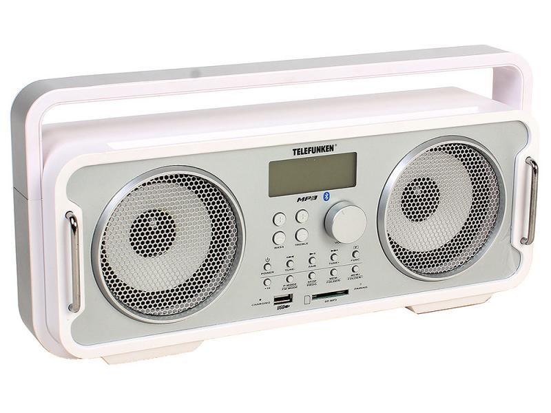 Радиоприемник Telefunken TF-SRP3401B White