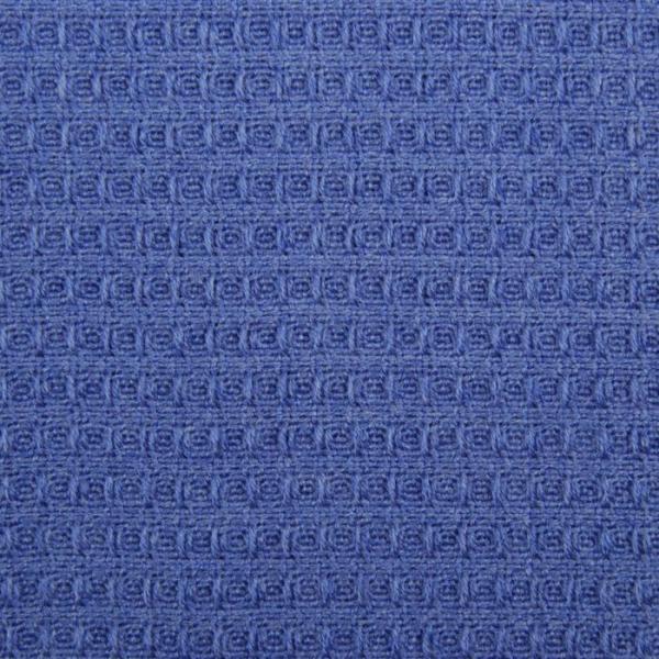 Плед вафельный, размер 110х140 см, 240 гр/м, цвет синий иней