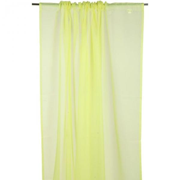 "Однтонная вуаль ""Солнечная долина"", размер 300х270 см, цвет желтый P55-45432/3"