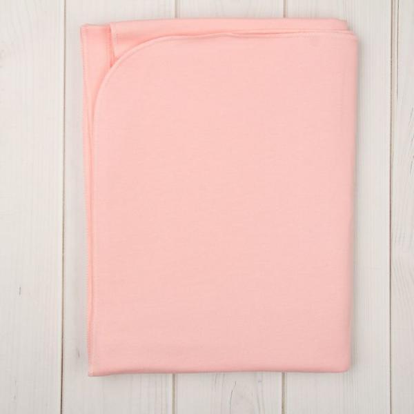 Пелёнка, размер 85*120 см, цвет розовый M000001FN