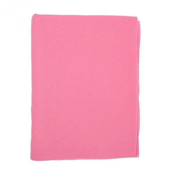 Пелёнка, размер 90*120 см, цвет розовый М.60