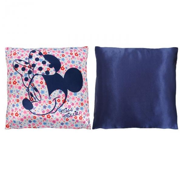 Подушка Disney в сатиновой наволочке 40*40см Минни, рисунок МИКС, синтепон, п/э