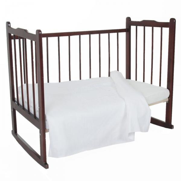 Пододеяльник детский, размер 85*115 см, цвет белый 08.7