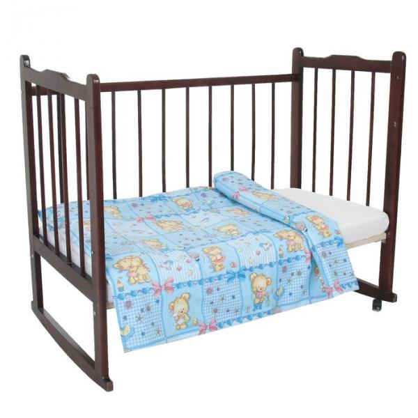 Пододеяльник детский, размер 85*115 см, принт голубой микс 08.12