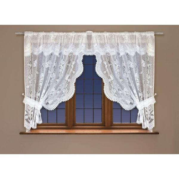 Гардина Haft (160x508 см), белый