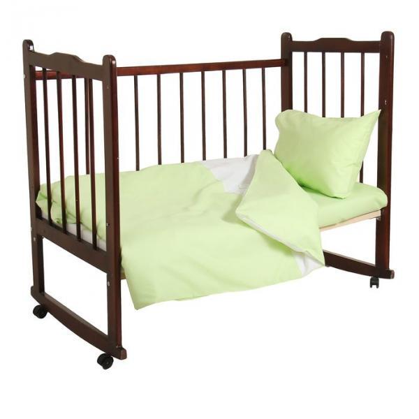 """Комплект постельного белья """"Зайка"""", цвет зелёный 33382"""