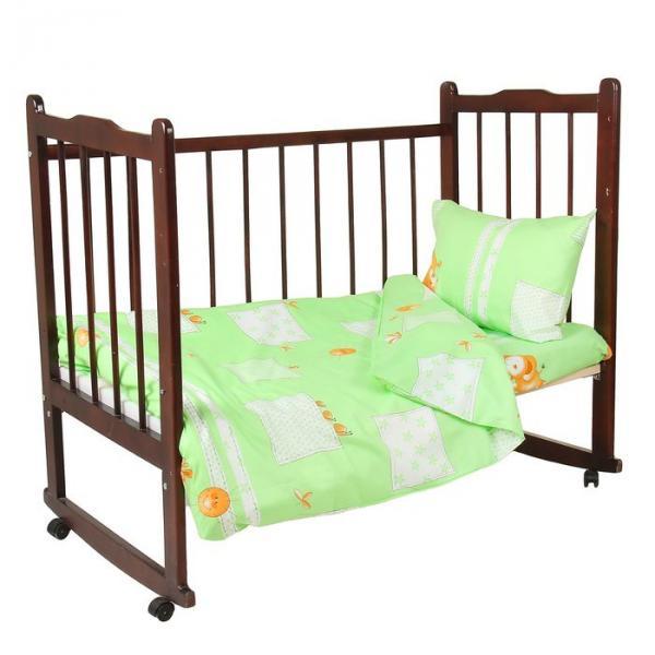 """Комплект постельного белья """"Друзья"""", цвет зелёный 33352"""