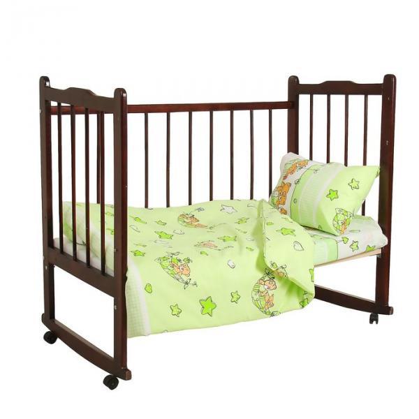 """Комплект постельного белья """"Баю-бай"""", цвет зелёный 33372"""