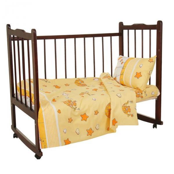 """Комплект постельного белья """"Баю-бай"""", цвет бежевый 33372"""