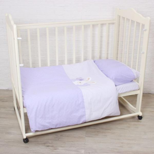Комплект постельного белья (3 предмета), цвет МИКС 6036