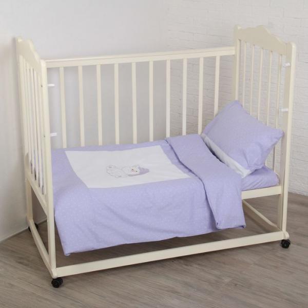 Комплект постельного белья (3 предмета), цвет МИКС 6036-2