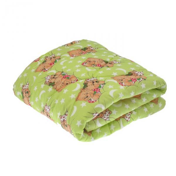 Одеяло стёганое, размер 110*140 см, цвет МИКС 008
