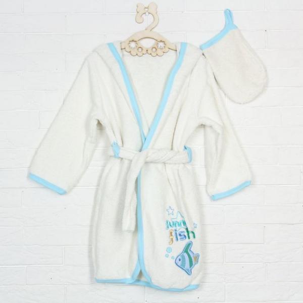 Комплект для купания (2 предмета), рост 92-98 см, цвет молочный 05056001437.200
