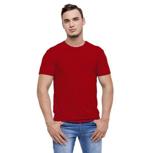 Футболка мужская StanEvent, размер 48, цвет красный, 135 г/м 52