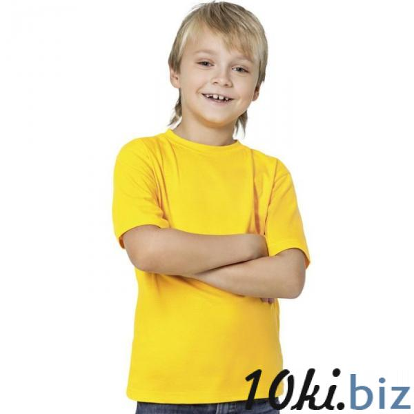 Футболка детская StanKids, рост 140 см, цвет жёлтый 150 г/м 06 купить в Беларуси - Футболки детские для мальчиков