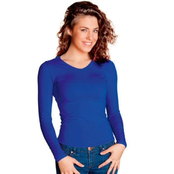 Футболка женская StanFashion, размер 46, цвет синий 180 г/м 32