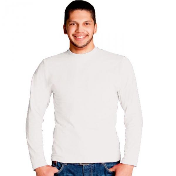 Футболка мужская StanCasual, размер 48, цвет белый 180 г/м 35