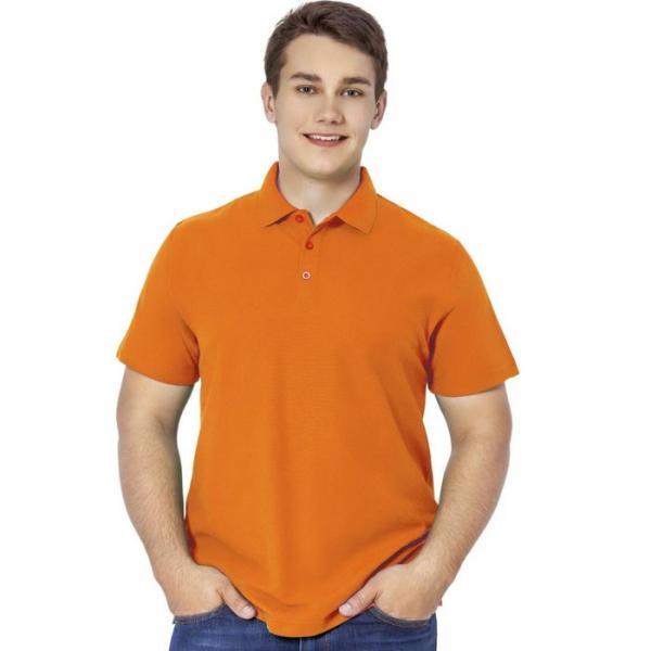Рубашка-поло мужская StanPremier, размер 50, цвет оранжевый 185 г/м 04