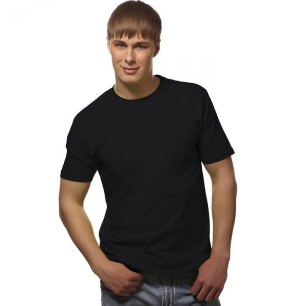 Футболка мужская StanGalant, размер 52, цвет чёрный 150 г/м 02