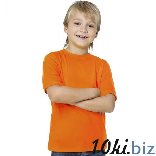 Футболка детская StanKids, рост 164 см, цвет оранжевый 150 г/м 06 купить в Беларуси - Футболки детские для мальчиков