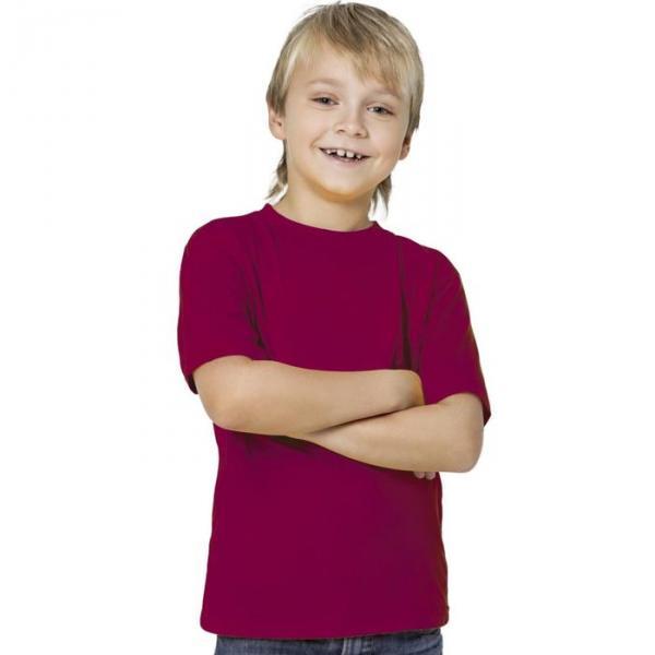 Футболка детская StanKids, рост 164 см, цвет винный 150 г/м 06