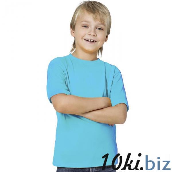 Футболка детская StanKids, рост 140 см, цвет бирюзовый 150 г/м 06 купить в Беларуси - Футболки детские для мальчиков
