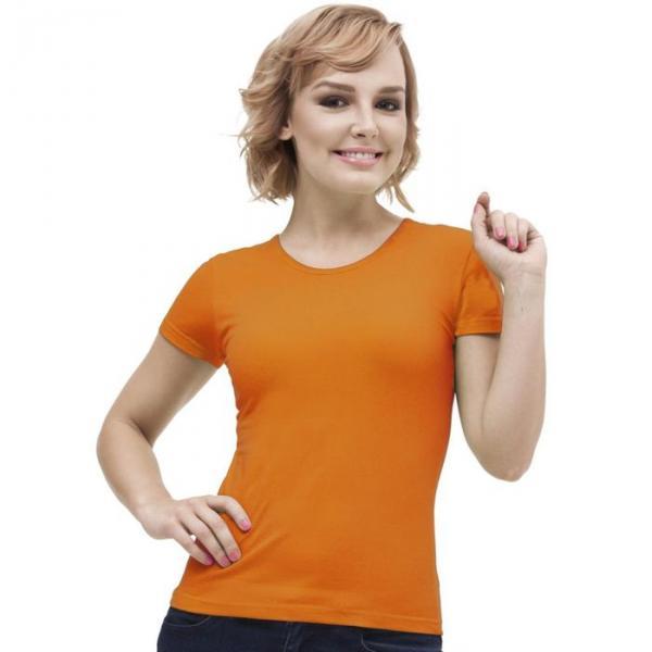 Футболка женская StanGalant, размер 44, цвет оранжевый 150 г/м 02W