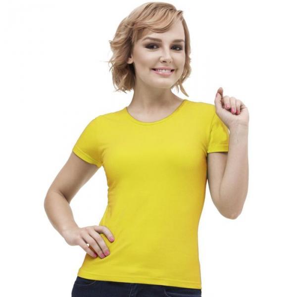 Футболка женская StanGalant, размер 44, цвет жёлтый 150 г/м 02W