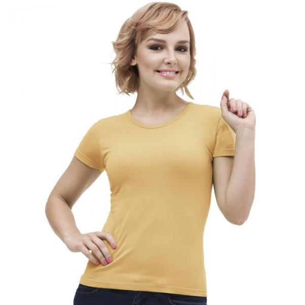 Футболка женская StanGalant, размер 42, цвет бежевый 150 г/м 02W