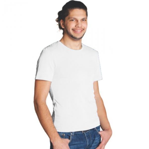 Футболка мужская StanSlim, размер 52, цвет белый 180 г/м 37
