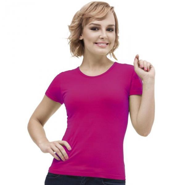 Футболка женская StanGalant, размер 48, цвет маджента 150 г/м 02W