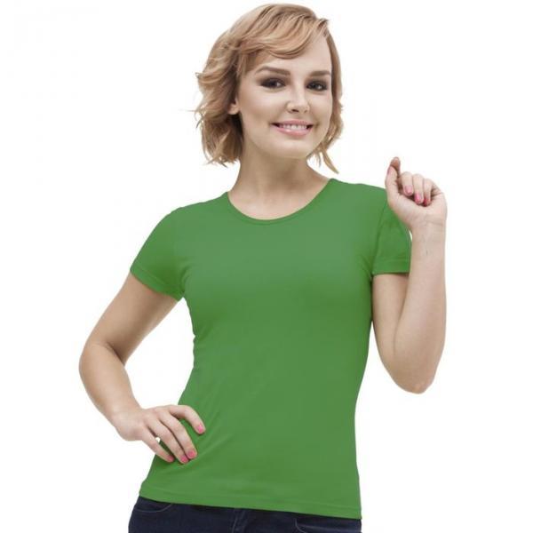 Футболка женская StanGalant, размер 42, цвет зелёный 150 г/м 02W