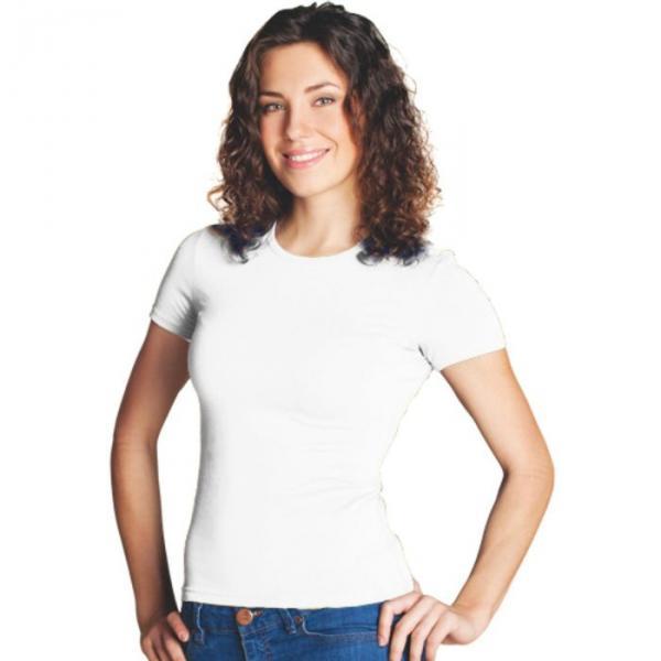 Футболка женская StanSlim, размер 52, цвет белый 180 г/м 37W