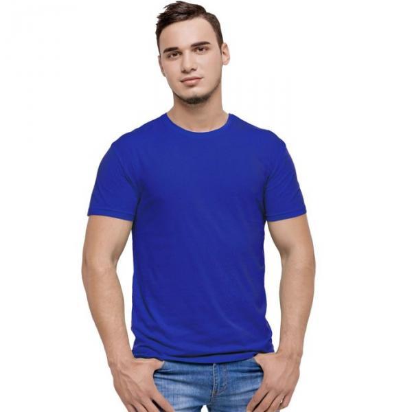 Футболка мужская StanEvent, размер 52, цвет синий, 135 г/м 52