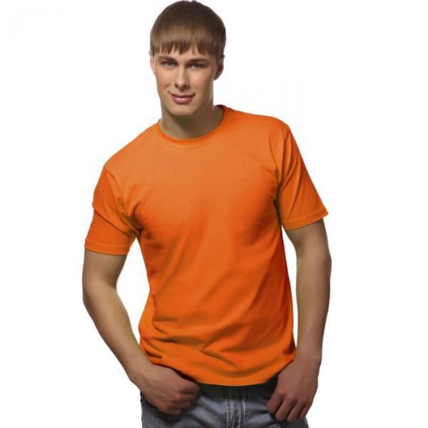 Футболка мужская StanGalant, размер 52, цвет оранжевый 150 г/м 02