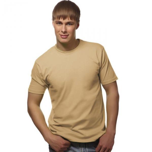 Футболка мужская StanGalant, размер 54, цвет бежевый 150 г/м 02