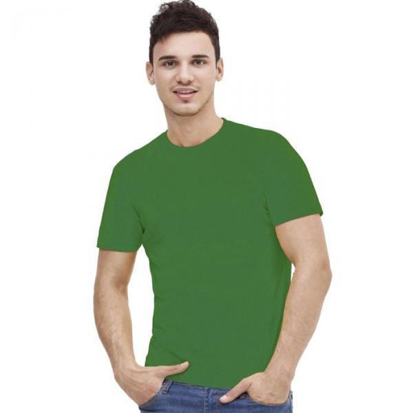 Футболка мужская StanAction, размер 46, цвет зелёный 160 г/м 51
